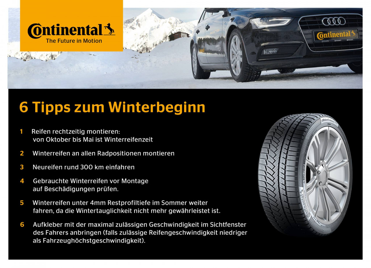 Winterreifen Continental